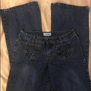 Jordache low rise jeans size 7